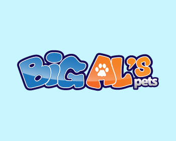 Big Al's Pets logo design