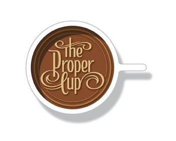 Logo design for The Proper Cup