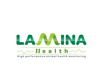 LaMina Health logo design