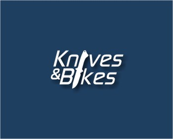 Knives and bikes zso AG logo design