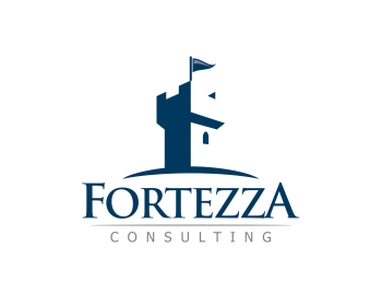 Fortezza Consulting, LLC logo design