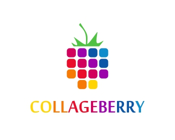 COLLAGEBERRY (CollageBerry) logo design