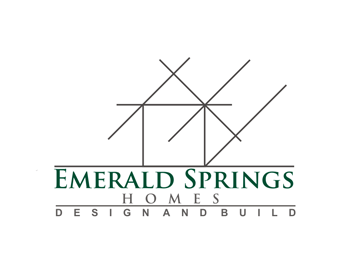 Emerald Springs Homes logo design