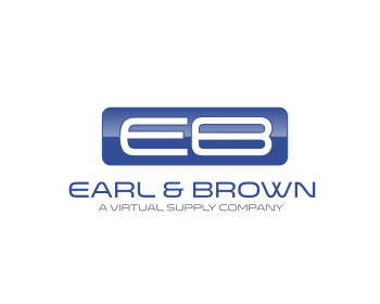 Earl & Brown logo design