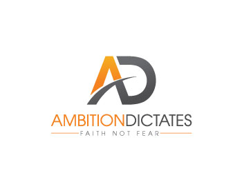 Ambition Dictates logo design