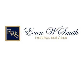 Evan W. Smith Funeral Services logo design