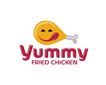 logo design entry number 2 by morabira yummy fried chicken logo