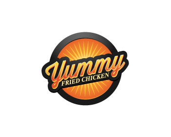 Yummy Fried Chicken logo design