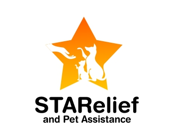 STARelief and Pet Assistance logo design