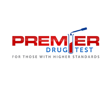 Premier Drug Test logo design