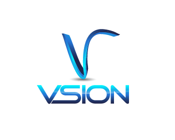 Vsion logo design