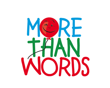 More Than Words logo design