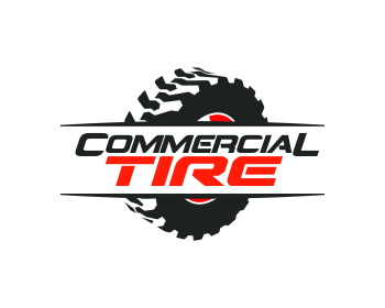 COMMERCIAL TIRE logo design