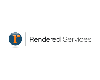 Rendered Services logo design