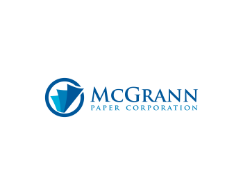 McGrann Paper Corporation logo design
