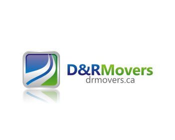 D&R Movers logo design