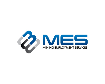 Mining Employment Services logo design
