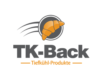 TK-Back logo design