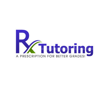 Logo design entry number 40 by Immo0 | Rx Tutoring logo contest