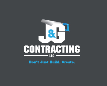 J&G Contracting, LLC logo design
