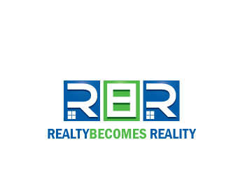 Realty Becomes Reality logo design