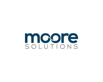 Moore Solutions logo design