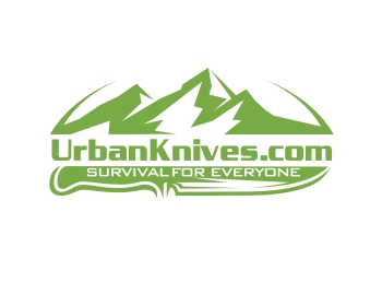 UrbanKnives.com logo design