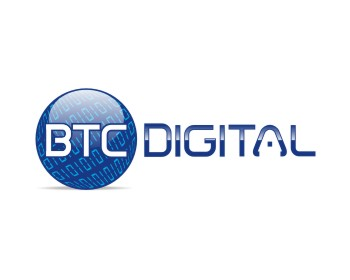 BTC Digital logo design