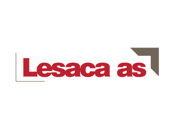 Lesaca as logo design