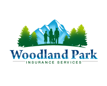 Woodland Park Insurance Services logo design
