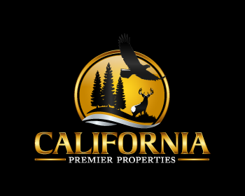 California Premier Properties logo design
