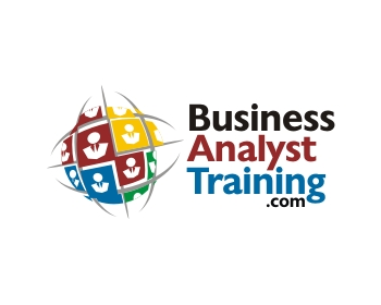Technology logo design for BusinessAnalystTraining.com