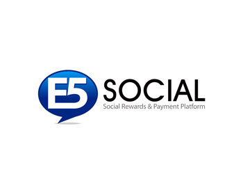 Logo design for E5 Social