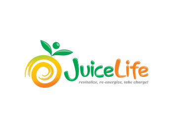Juice Life logo design