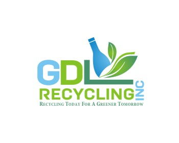 GDL Recycling, Inc. logo design