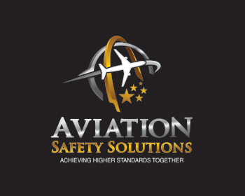 Aviation Safety Solutions logo design