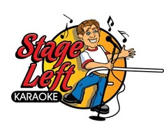Logo per Stage Left Karaoke