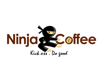Ninja Coffee logo design