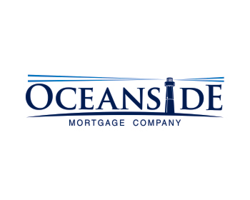 Oceanside Mortgage Company logo design