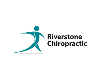 logo design entry number 100 by adrianchambre riverstone cool chiropractic logos chiropractic logos and images