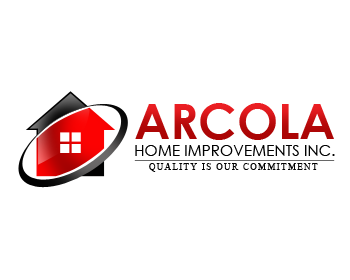 Logo Design Entry Number 35 By Alocelja | Arcola Home Improvements  Incorporated Logo Contest Part 30