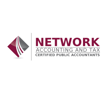 Network Accounting and Tax logo design