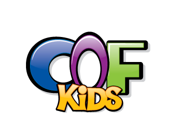 COF Kids logo design
