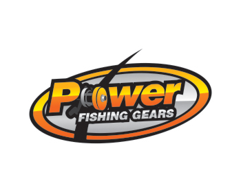 PowerFishingGears logo design