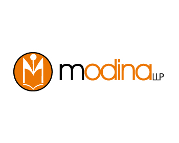 Modina LLP logo design