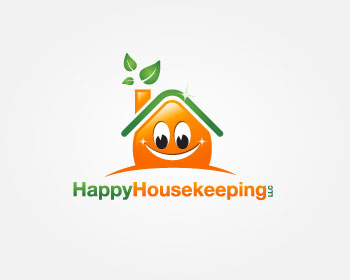 Happy Housekeeping LLC logo design