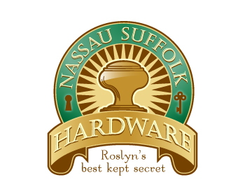 Nassau Suffolk Hardware logo design