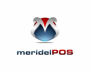 Logo design for meridelPOS