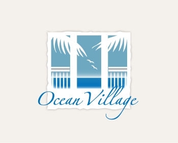 Ocean Village logo design