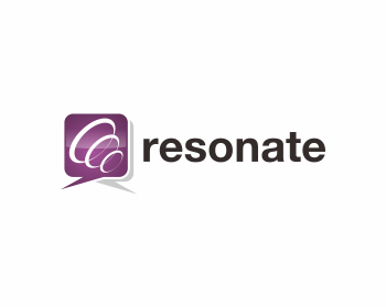Resonate logo design